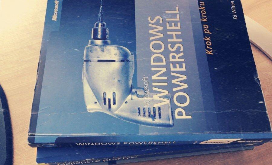 books, książki powershell