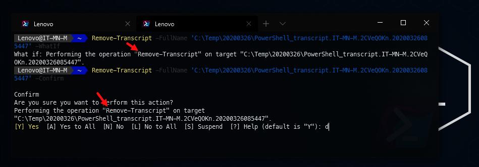 PowerShell Common Parameters